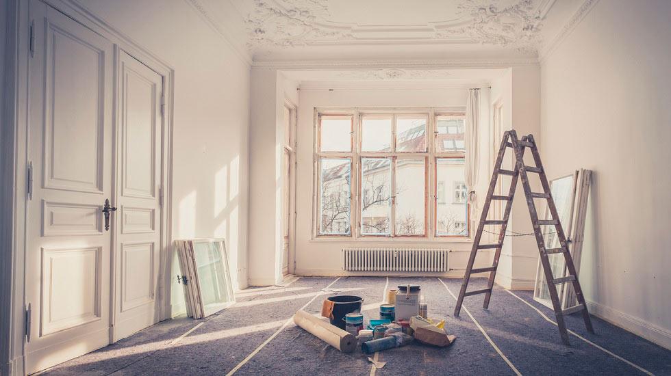 Reformar un piso para su posterior venta